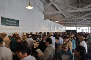 Kentucky Derby Betting Window